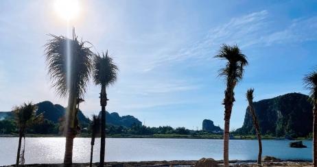 Cập nhật tiến độ khu đầm sen, ven sông Nam Hoà Xuân