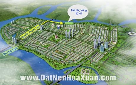 Mở bán biệt thự khu B2.47 KĐT Nguyễn Tri Phương