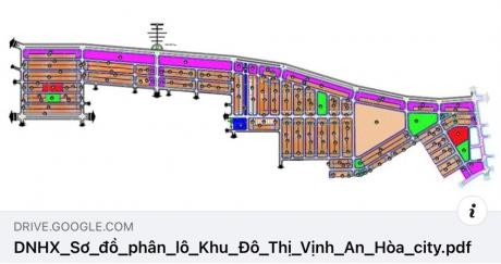 HOT: Tải về bản đồ phân lô Vịnh An Hòa City (2.2021)