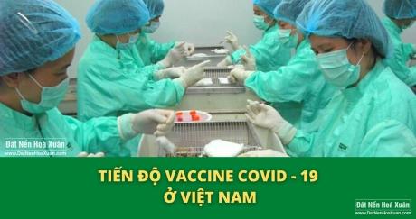 Tiến độ vaccine Covid-19 ở Việt Nam