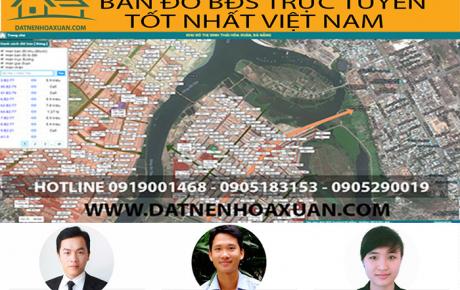 Đất Nền Hòa Xuân website xem bản đồ BDS trực tuyến tốt nhất Việt Nam