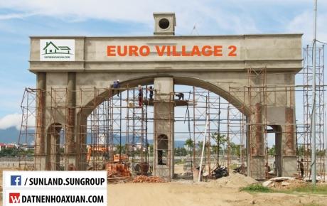 Hot! Sunland mở bán Khu Biệt Thự Euro Village 2 Hòa Xuân ngày 18/09/2017