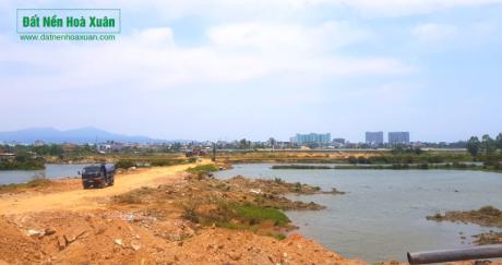 Dự án Nam Hoà Xuân vẫn được thi công, hoàn thiện cơ sở hạ tầng, bất kể thị trường BĐS Đà Nẵng đang trầm lắng