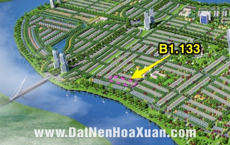 Mở bán Hoà Xuân mở rộng B1.133 cạnh sông, biệt thự.