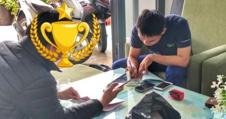 Nhà đầu tư Hòa Xuân dày dạn kinh nghiệm nhưng lần đầu tiên xuống cọc tại Nam Hòa Xuân